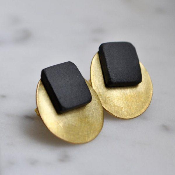 orecchini in ottone